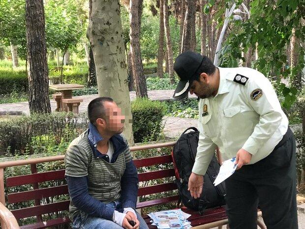 35معتاد و خرده فروش مواد مخدر در زنجان دستگیر شدند