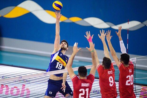 Iran lose to Italy at FIVB U21 World Championship