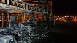 آتشسوزی مجتمع تجاری در غرب تهران/خطر سرایت به ساختمانهای مجاور