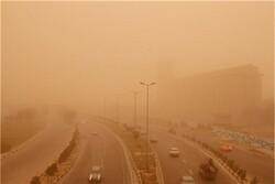وزش باد شدید همراه با گرد و خاک در برخی استان های کشور