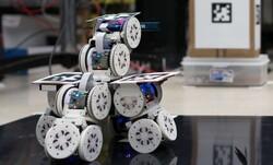 ماژول های رباتیک یک ربات بزرگ می سازند