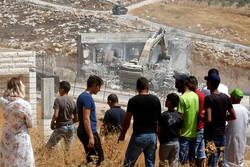 Filistinlilerin evlerini böyle yıktılar!