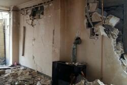 نشت گاز علت انفجار در خیابان فلسطین رشت/ یک نفر مصدوم شد