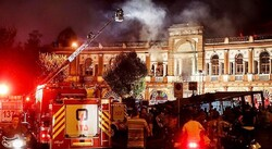 Fire damages 1,000 Sq. m of historical texture in Tehran
