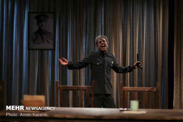 'Fly' goes on stage at Tehran Sayeh Hall