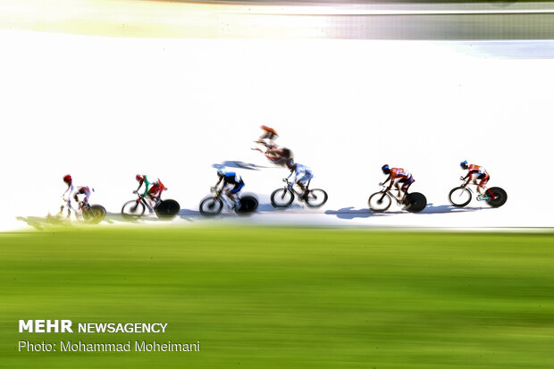 2nd stage of Iran's track cycling league