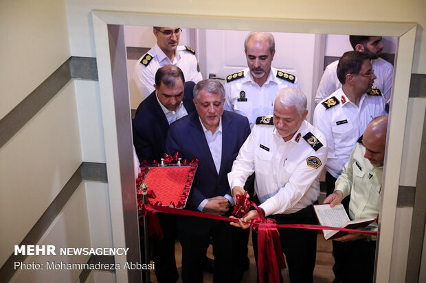 Inaugural ceremony of Tehran Police Studio