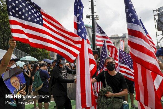 معترضان هنگ کنگی دست به دامن کشورهای خارجی شدند