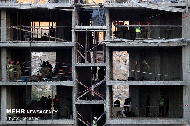 Filistinlilerin evlerini böyle yıktılar