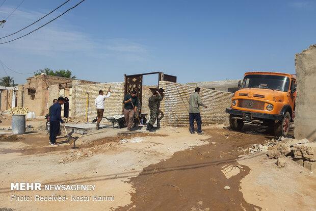 جبران خسارات سیلزدگان از محل کمکهای مردمی