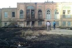 خانه تاریخی انصای ارومیه طعمه حریق شد