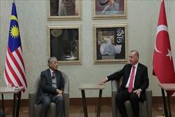 مهاتیر محمد و اردوغان دیدار کردند