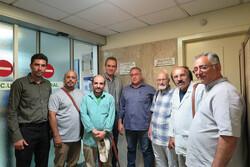 مدیرکل هنرهای نمایشی به ملاقات قدیمیترین مرشد ایرانی رفت