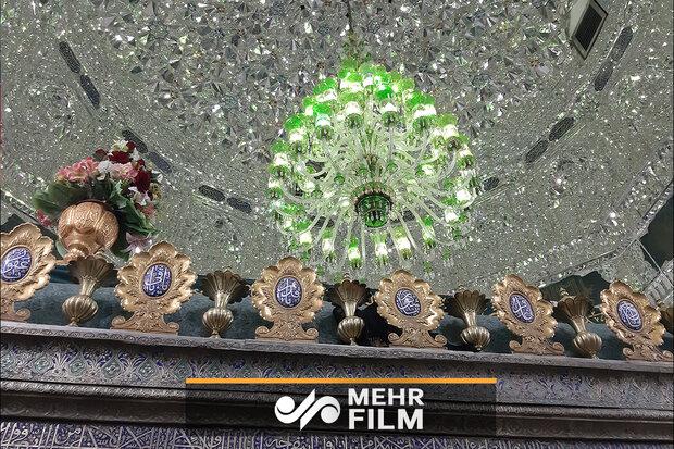 حضرت شاہ عبدالعظیم کے روضہ مبارک سے غبار صاف کرنے کی تقریب