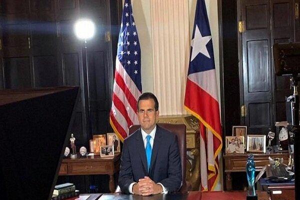 استعفای فرماندار «پورتوریکو»