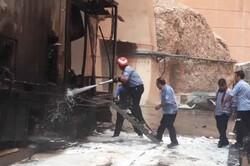 ۴ مغازه فلافل فروشی در اهواز دچار حریق شدند
