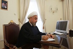 Pres. Rouhani commiserates with Afghans over demise of grand Shia cleric