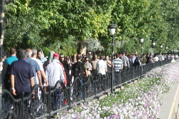 همایش بزرگ پیاده روی خانوادگی در «ائل گلی» تبریز برگزار شد