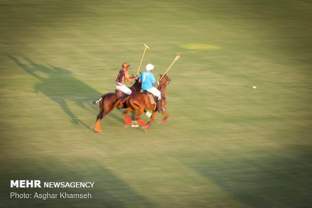 Tehran's provincial polo competition