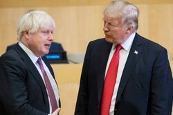 British PM Johnson, US Trump discuss Iran