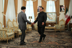 عمان کے وزير خارجہ کی شمخانی سے ملاقات