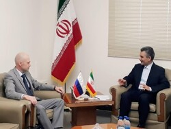 Oleg Grigoryev, the chairman of the Russian Non-Ionizing Radiation Protection Committee, on Saturday met with the head of Iran's Center for Nuclear Safety System Hojjatollah Salehi to discuss venues for cooperation.