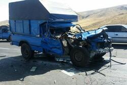 سانحه رانندگی در محور عجب شیر- آذرشهر قربانی گرفت