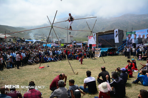 Local Games Festival in Javaher Dasht