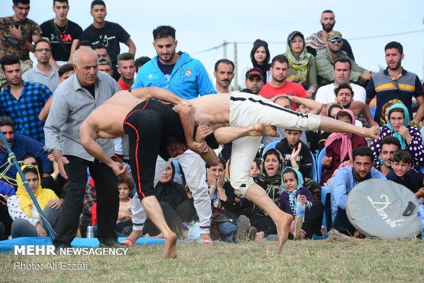 """إحتفالية الألعاب المحلية في قرية""""جواهردشت"""""""