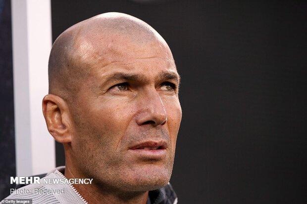 دیدار تیم های فوتبال اتلتیکو مادرید و رئال مادرید