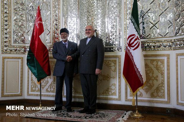 Zarif Tahran'da Ummanlı mevkidaşı ile görüştü