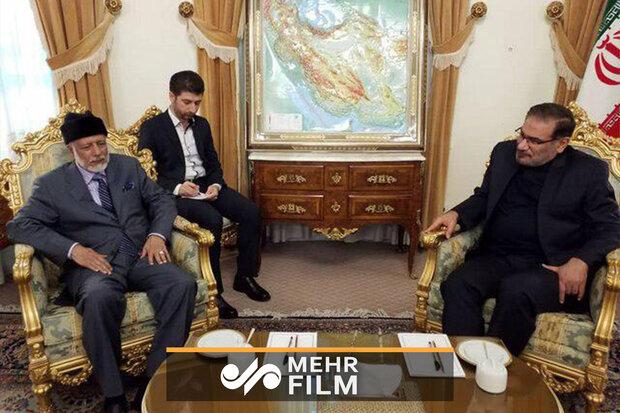 Shamkhani and Omani FM meeting