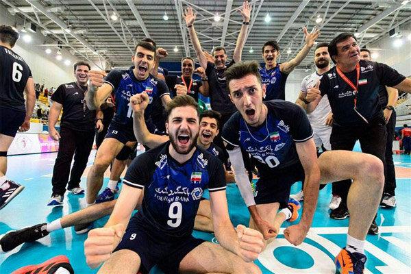 ایرانی نوجوانوں کی قومی والیبال ٹیم عالمی چیمپئن بن گئی
