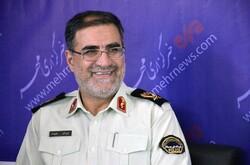 دیدار مردمی فرمانده انتظامی کرمانشاه با مردم