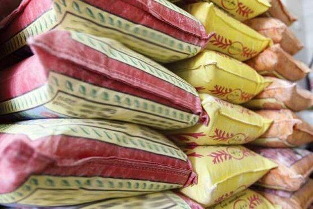 کشف برنج احتکار شده در صحنه