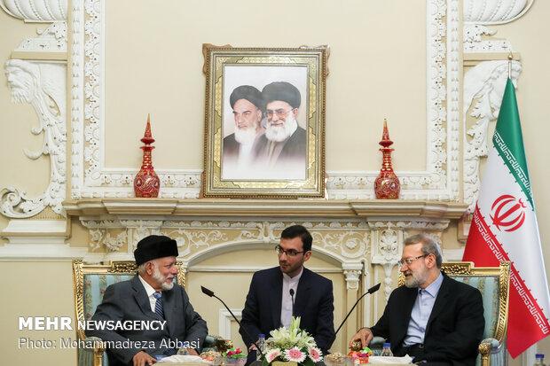 Iran's main strategy is to improve regional security: Larijani