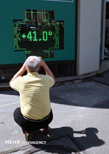 Avrupa'da hava sıcaklığı rekor kırdı