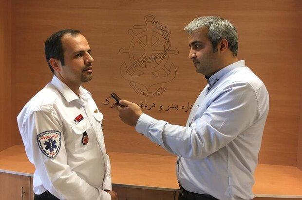 اورژانس استان بوشهر روزانه ۹۱ ماموریت انجام میدهد