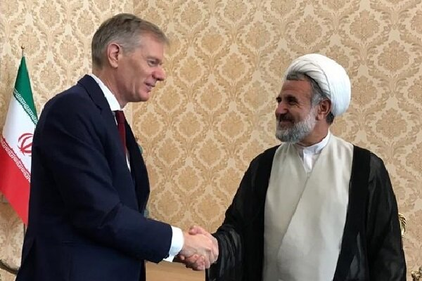 UK envoy holds 'detailed' talks with chairman of Iran Parl. key committee