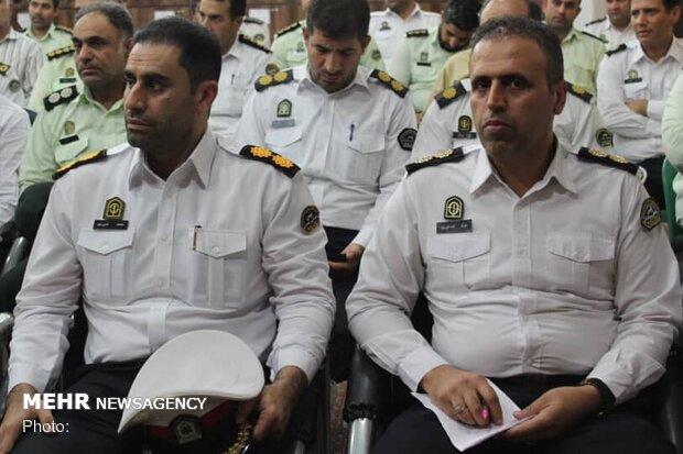 رئیس پلیس جدید راهنمایی و رانندگی دزفول معارفه شد