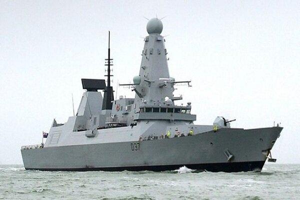 توضیحات وزیر دفاع انگلیس درباره مأموریت ناوشکن «دانکن»