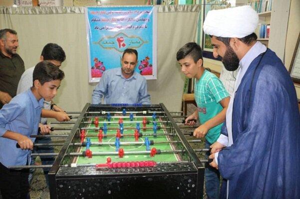مسابقات ورزشی جام «آدینه» در مصلای بخش اسالم برگزار شد