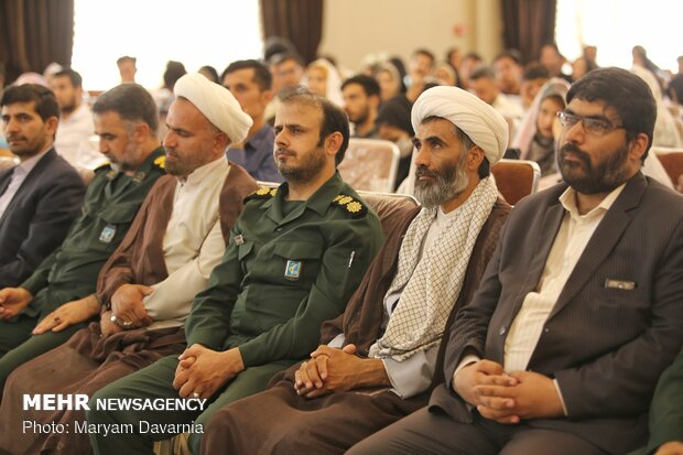 Mass wedding ceremony in North Khorasan province