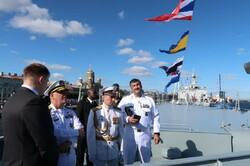 Iranian commander visits Russian navy