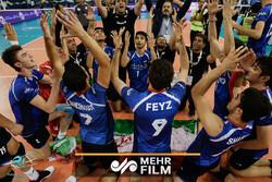 لحظه قهرمانی سروقامتان ایران برابر ایتالیا