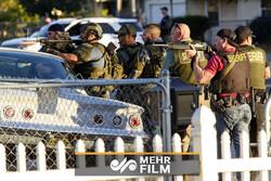 فیلمی از لحظات بعد از تیراندازی در کالیفرنیا