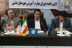 دوره های آموزشی در پادگان های استان بوشهر گسترش مییابد