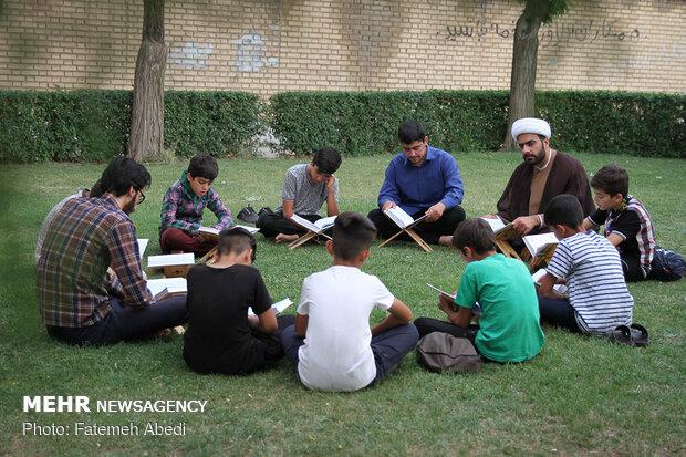 اوقات فراغت بچه های مسجد