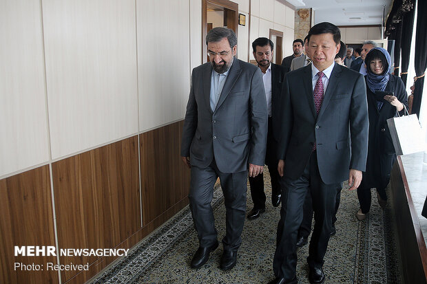Mohsen Rezaei, China's Song Tao meeting in Tehran