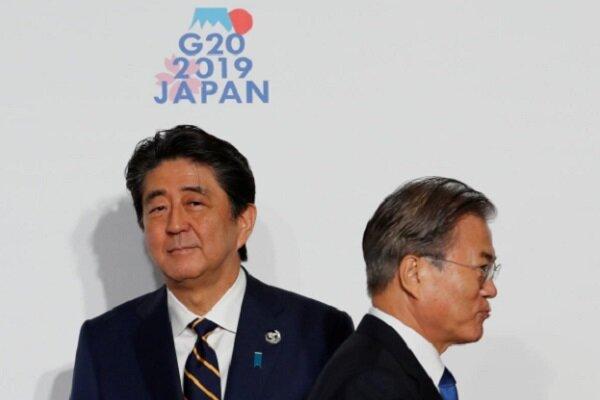ژاپن، سئول را از فهرست کشورهای سفید خارج کرد